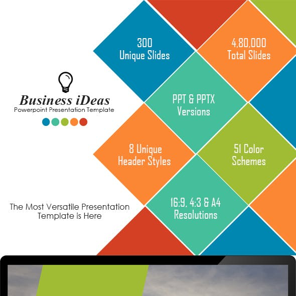 Business Ideas - Multipurpose PowerPoint Template