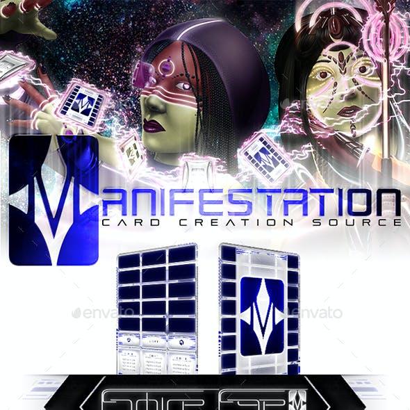 Manifestation CCS: Scifi Card Game Border