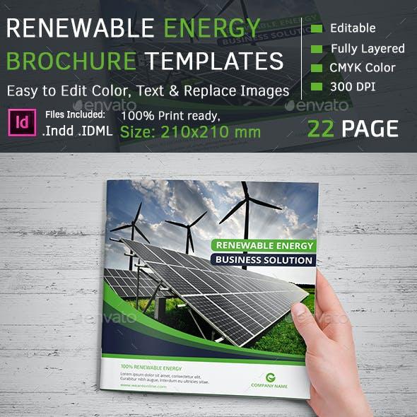 Renewable Energy Square Brochure
