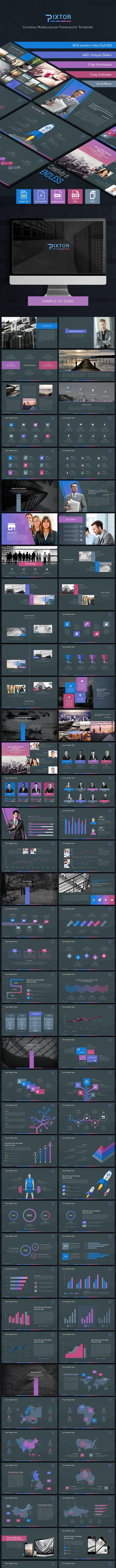 Pixtor - Creative Powerpoint Template - Creative PowerPoint Templates