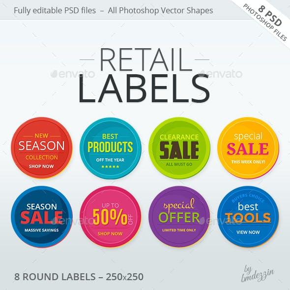 Retail Labels 1