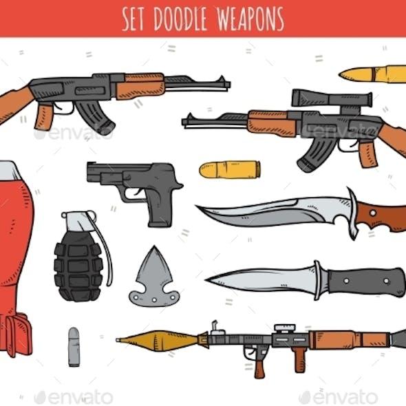 Weapon Doodles