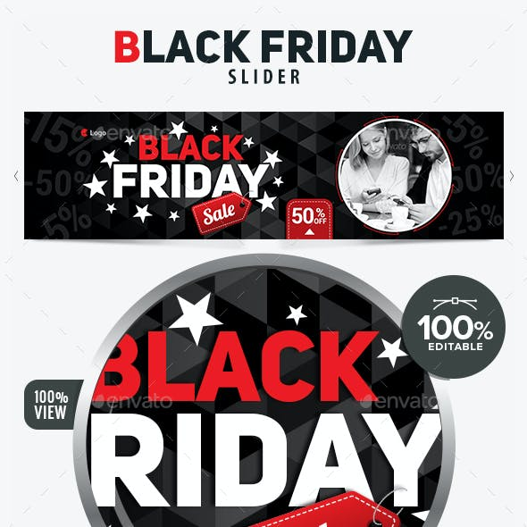 Black Friday Sales Slider