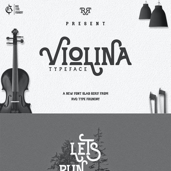 Violina typeface