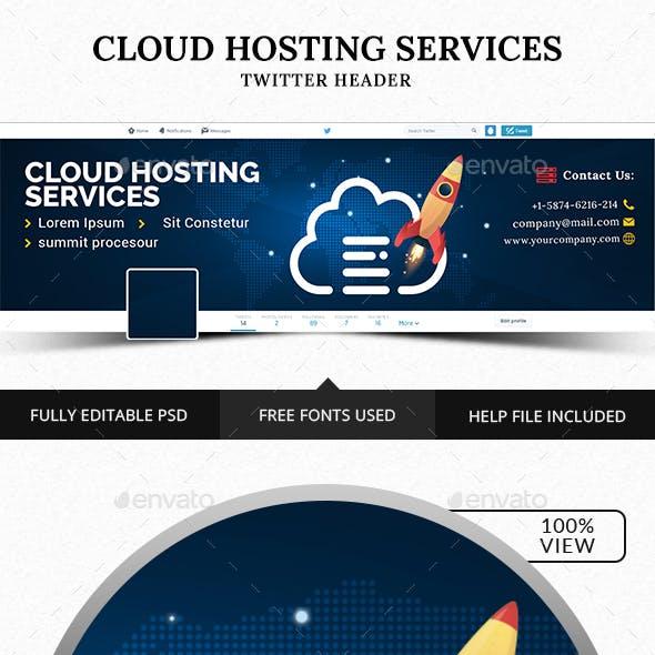 Cloud Hosting Twitter Header