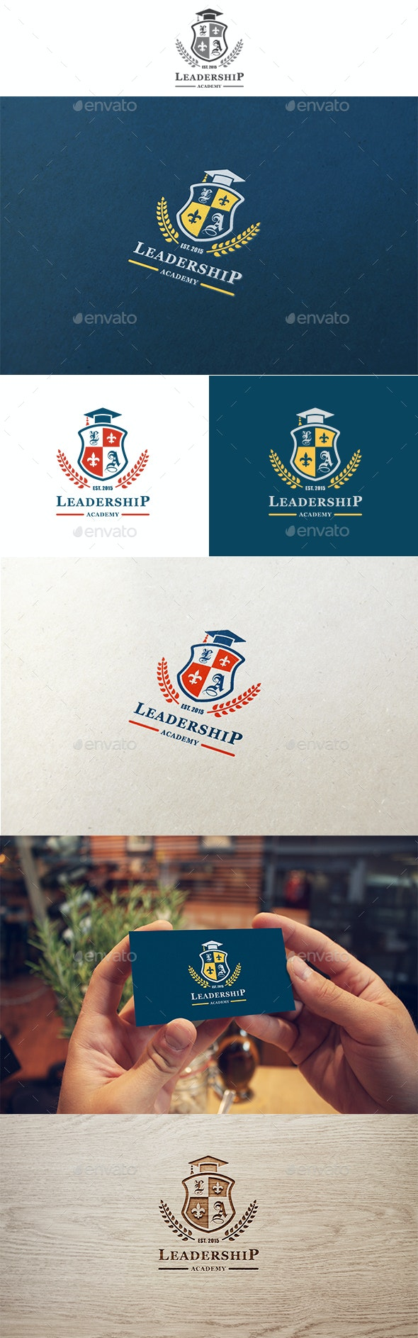 Leadership Academy Logo - Crests Logo Templates