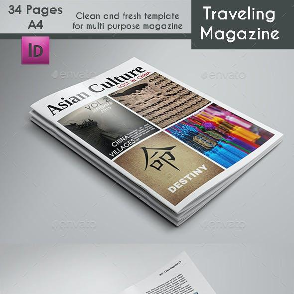 Multi Purposes Magazine Template