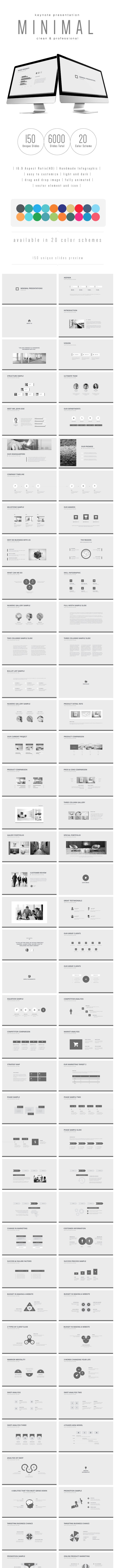 Multipurpose Keynote Presentation (Vol. 17) - Keynote Templates Presentation Templates