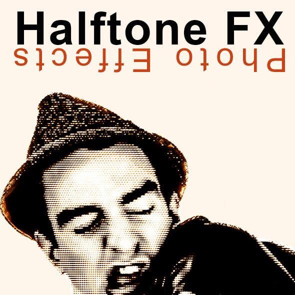 Halftone FX Photo Effect