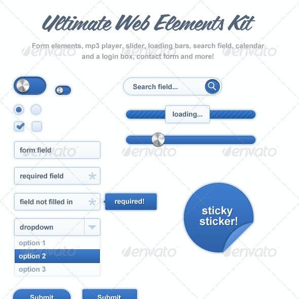 Web Elements Kit