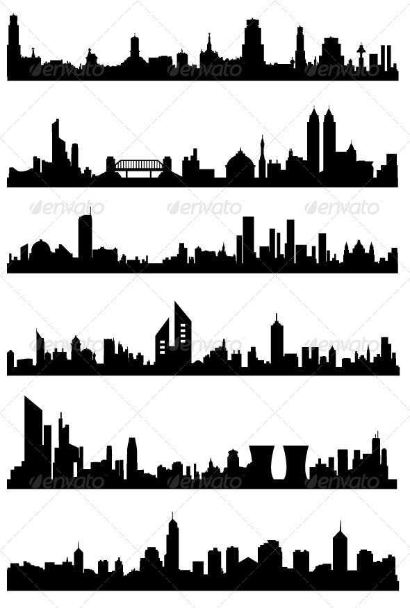 Urban Skylines / Cityscapes - Buildings Objects