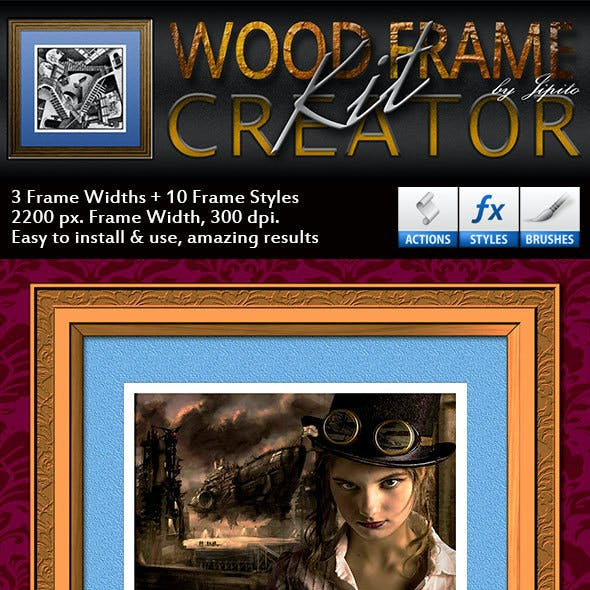 Wood Picture Frame Creator Kit