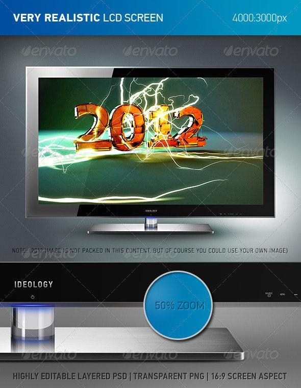 LCD Screen - TV Displays