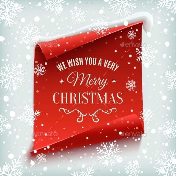 Merry Christmas Greeting Card. - Christmas Seasons/Holidays