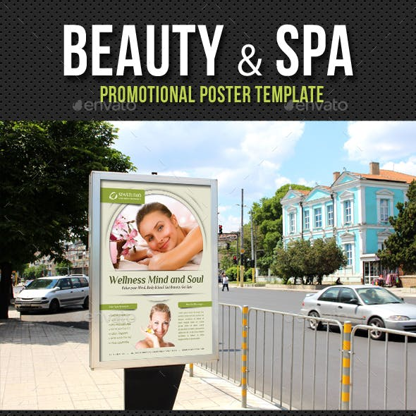 Beauty and Spa Poster Template V13