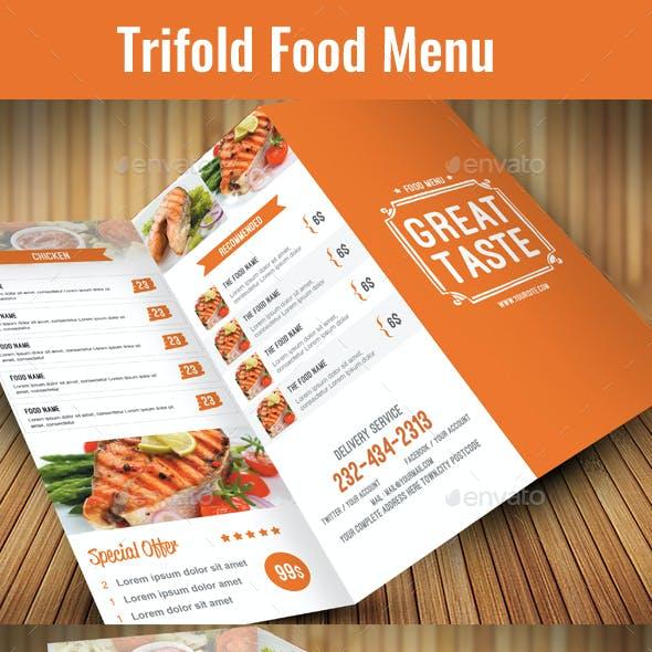 Trifold Food Menu 03