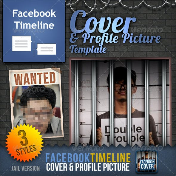 Facebook Timeline Cover & Profile Picture: Jail