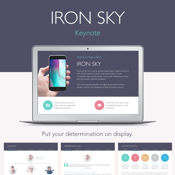 Iron Sky Keynote Template