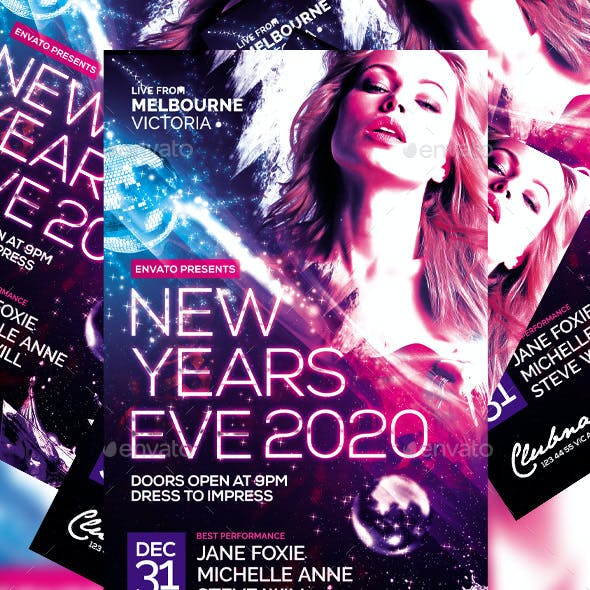 New Years Flyer Vol. 3