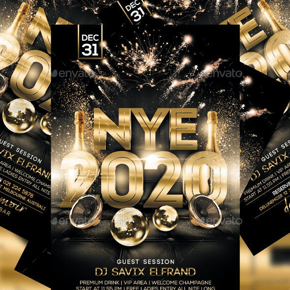 New Years Flyer Vol. 2