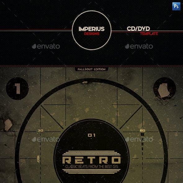 Retro CD/DVD Cover