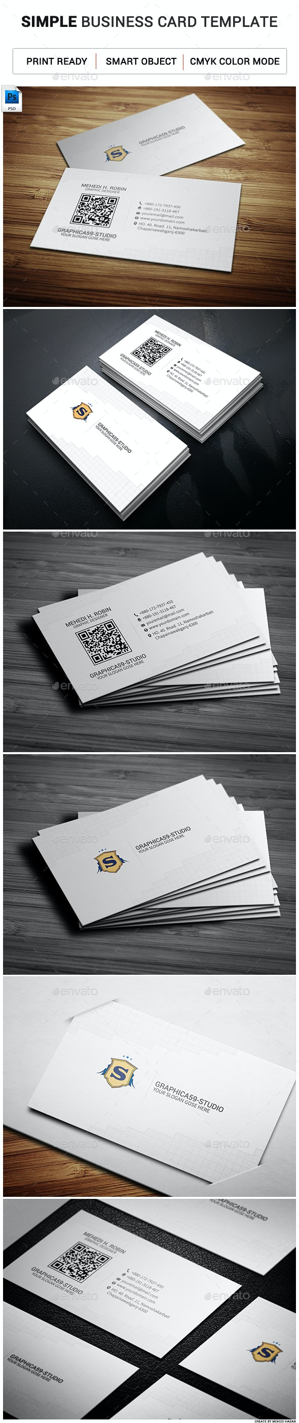 Simple Business Card 03 - Corporate Business Cards