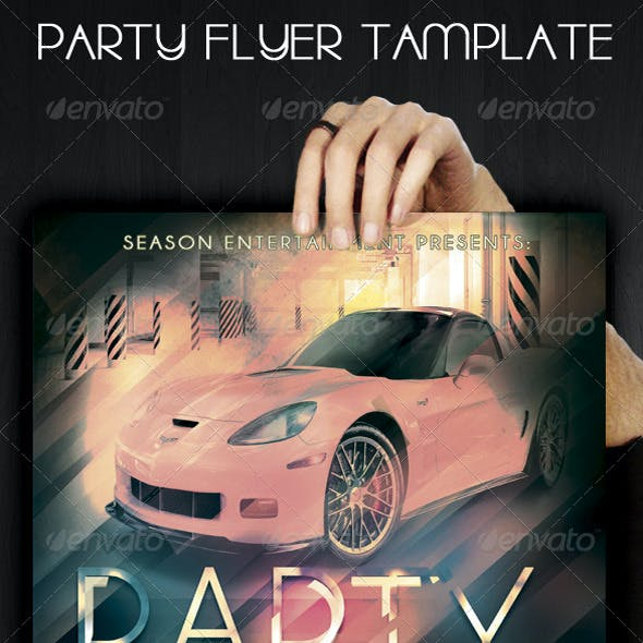 Party Flyer \ Poster Template