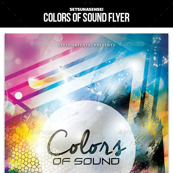 Colors of Sound Flyer