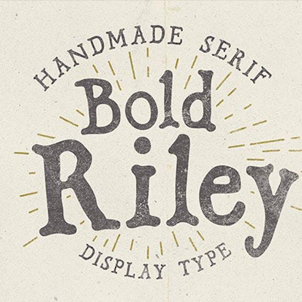 Bold Riley handmade serif typeface