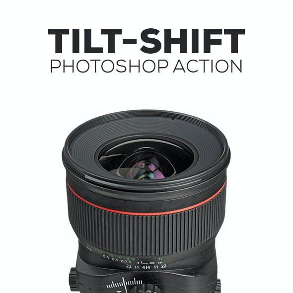Pro Reflex Tilt-Shift Photoshop Action