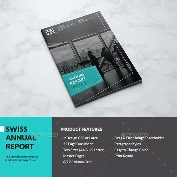 Swiss Annual Report