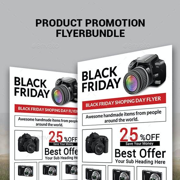 Product Promotion Flyer Bundle Print Templates