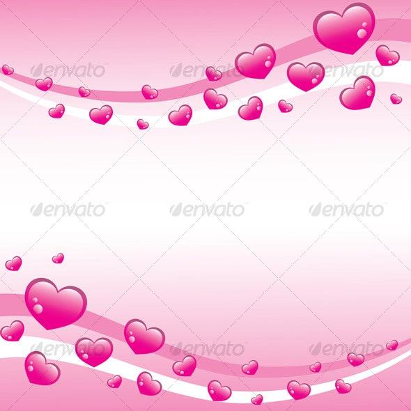 Valentines background - Backgrounds Decorative