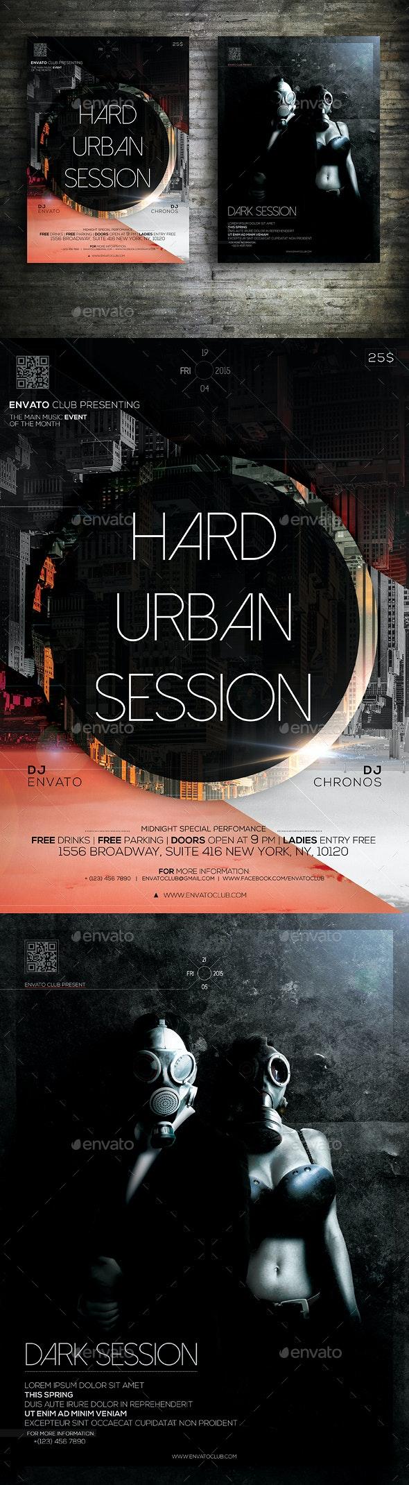 Session Flyer Bundle - Clubs & Parties Events