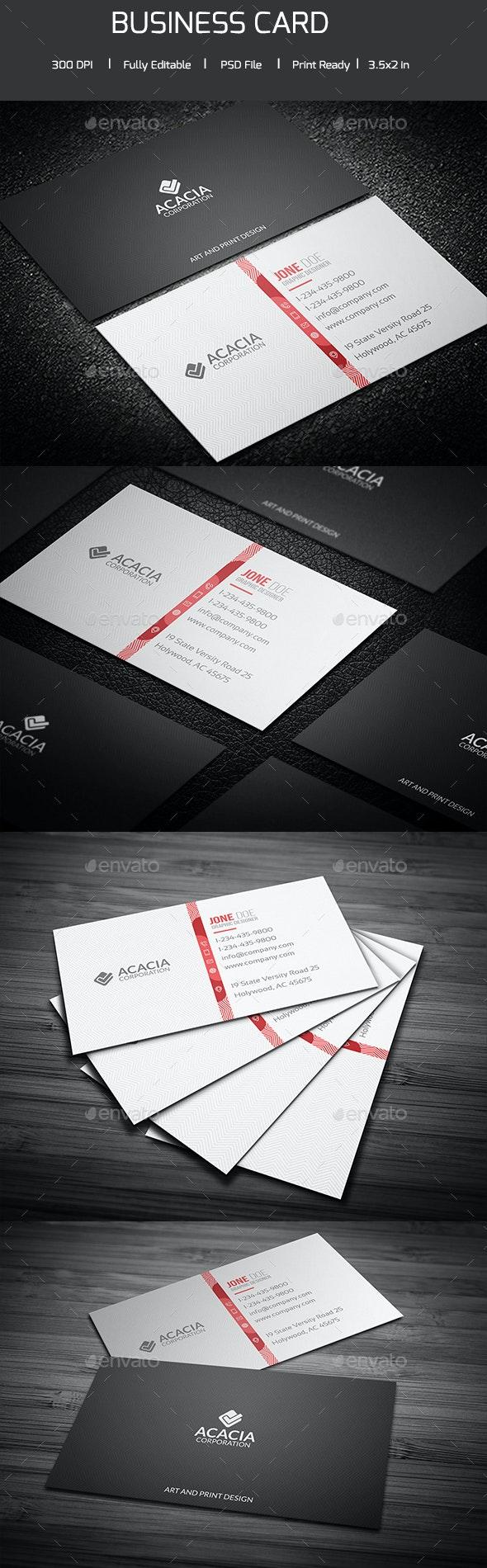 Brazoya Business Card - Corporate Business Cards