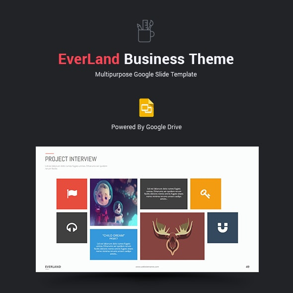 Everland Business Google Slide Theme - Google Slides Presentation Templates