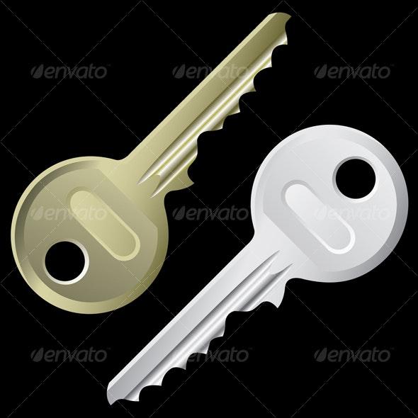 keys - Man-made Objects Objects