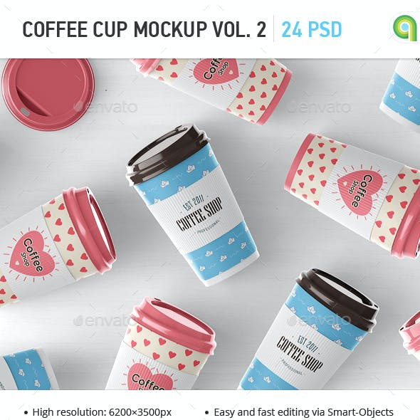 Coffee Cup Mock-up Vol.2