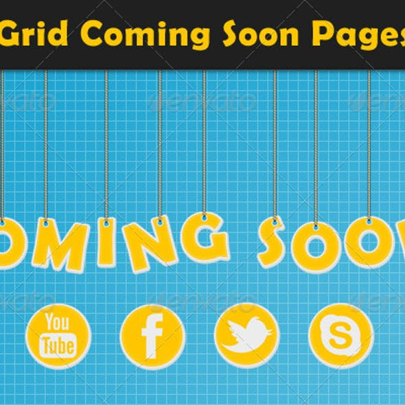 Grid Coming Soon Pages