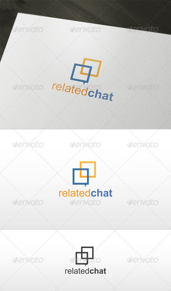 Related Chat Logo - Symbols Logo Templates