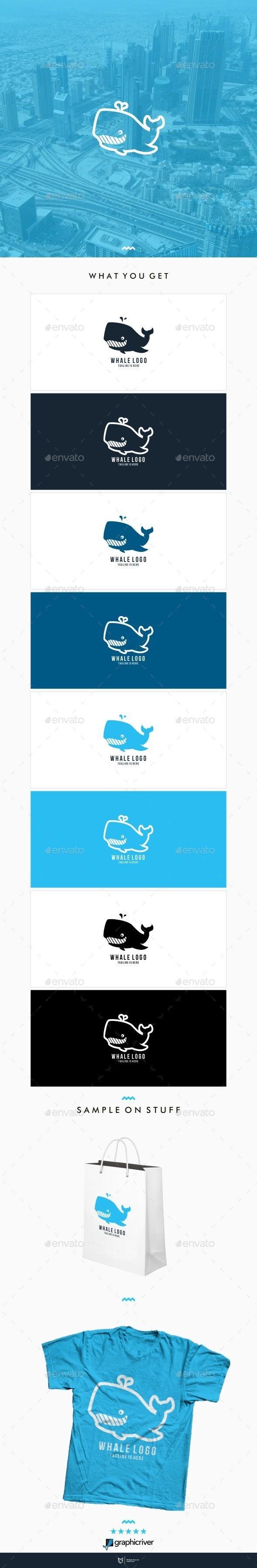 Whale Logo - Animals Logo Templates