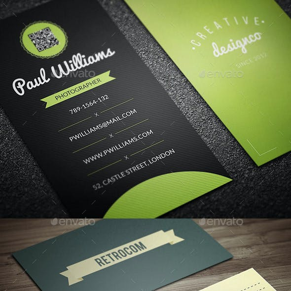Retro/Vintage Business Card Bundle