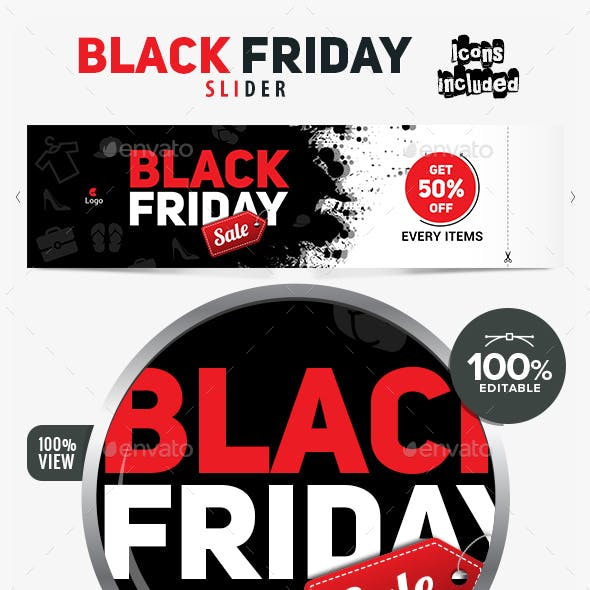 Black Friday Sale Slider