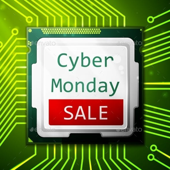Cyber Monday Sale Poster