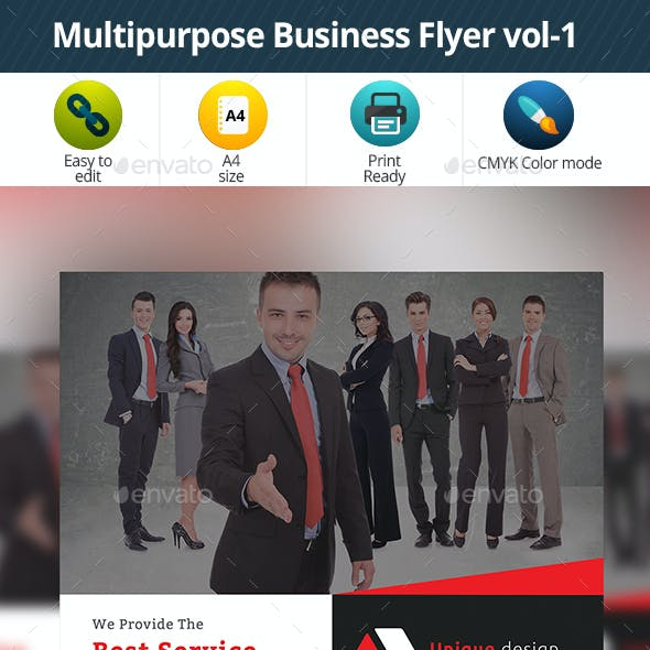Multipurpose Business Flyer vol-1