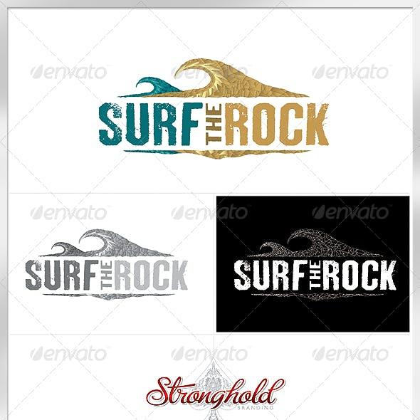 Surf The Rock Logo