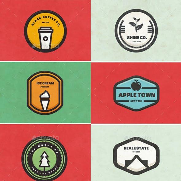 BUNDLE 50 Logos & Badges