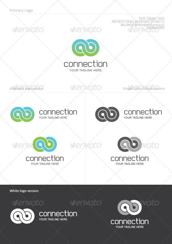 Connection - Abstract Logo Templates