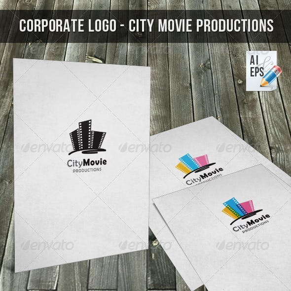 Corporate Logo - City Movie Productions