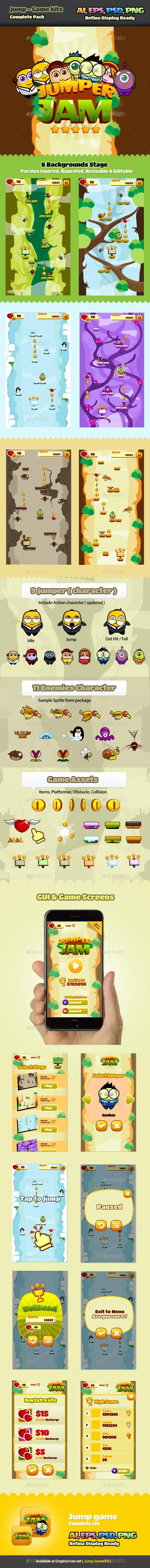 Jump Game Kits - Game Kits Game Assets